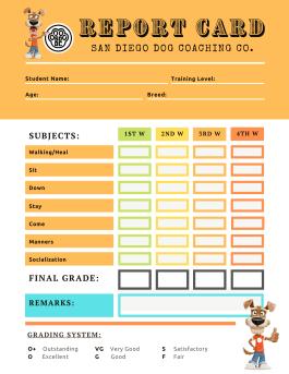 SDDC Report Card Template